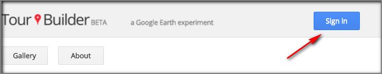 accedere a Google Tour Builder